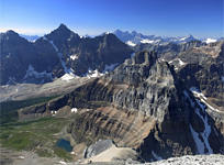 Deltaform, Eiffel Peak and Mt. Pinnacle