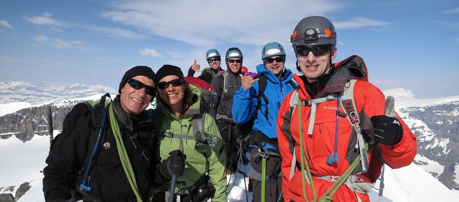 Mt. Athabasca Summit Celebration