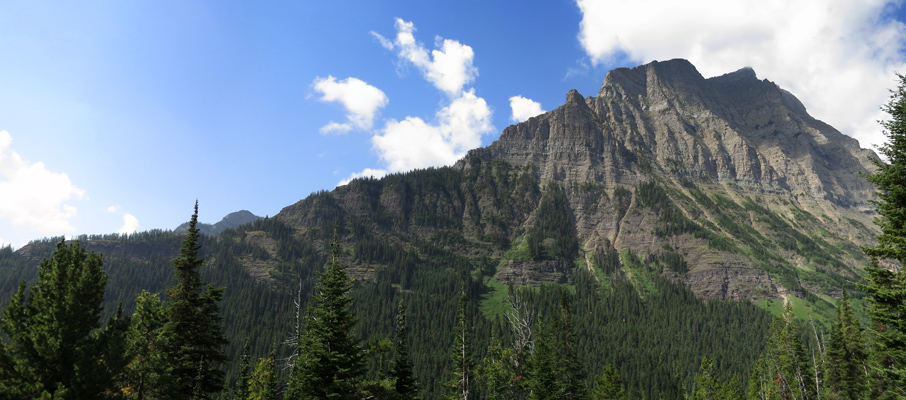 Mt. Lineham from the Trail
