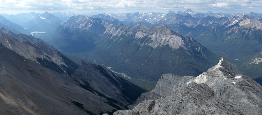 Old Goat Mountain from the summit