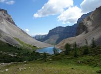 Mt. Bourgeau and Harvey Lake